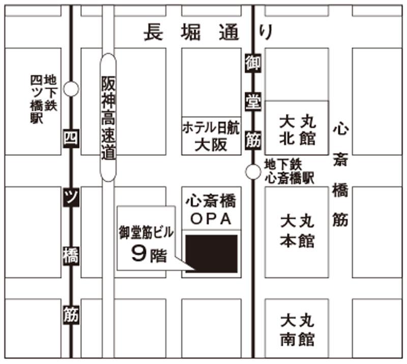 御堂筋ビル地図